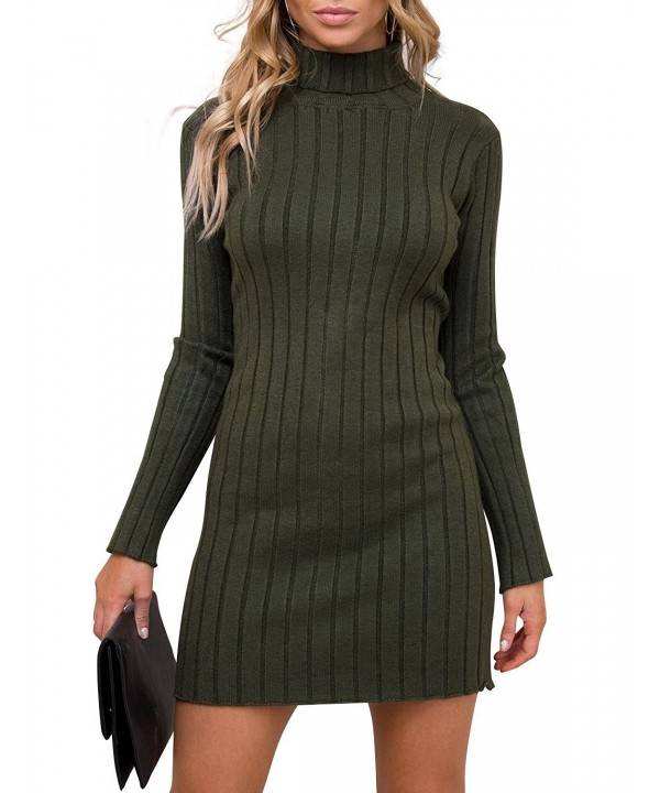 Simplee Womens Turtleneck Pullover Sweater