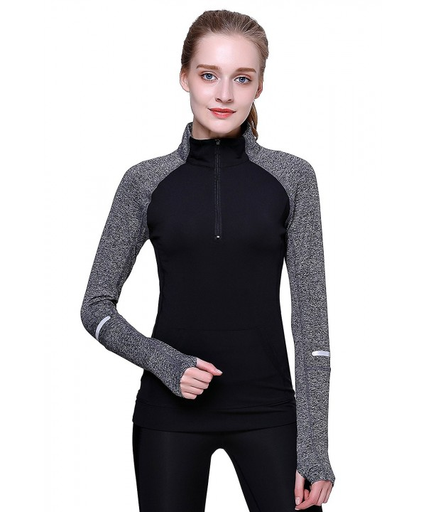 Sleeves Sweatshirt Athletic Workout Running