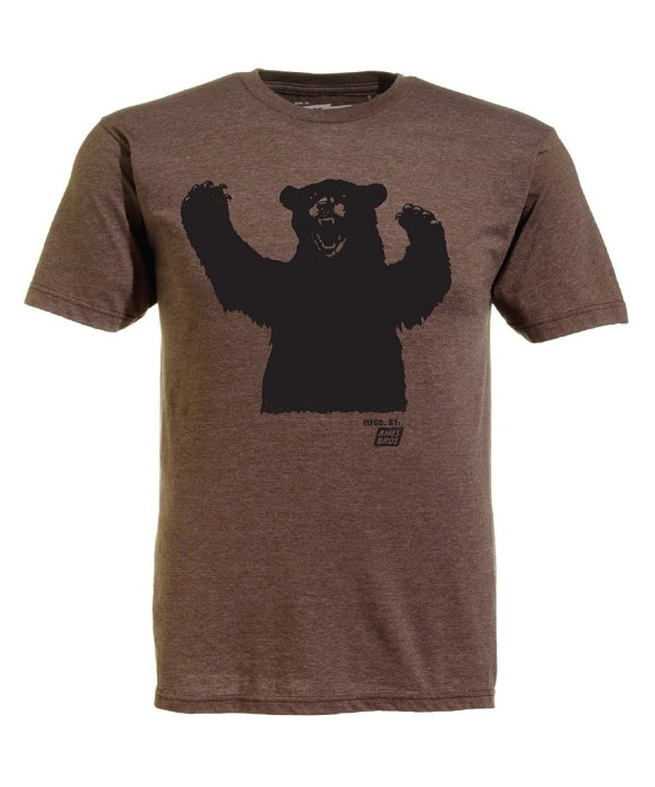 Ames Bros T shirt Brown Heather
