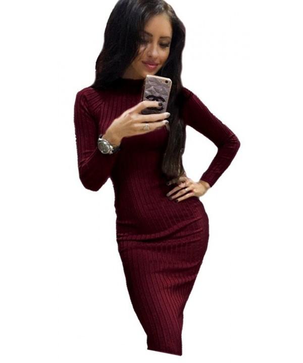 Centralsy Women Elasticity Sleeve Sweater