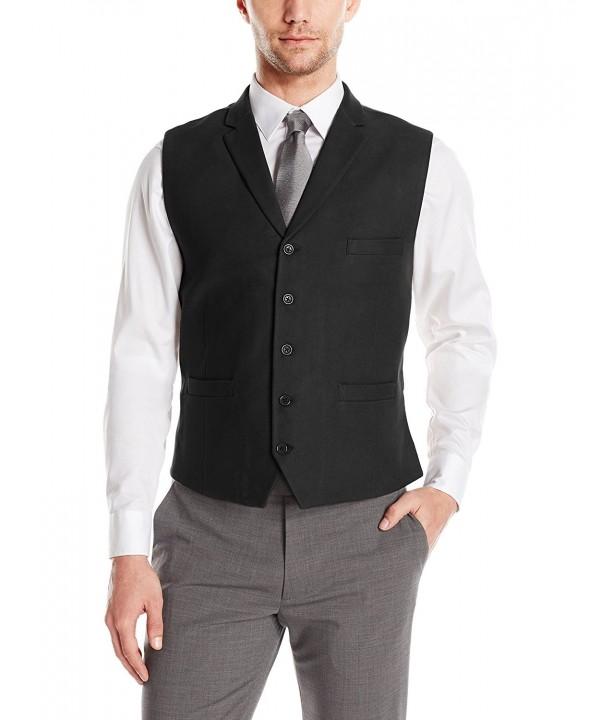 Greg Norman Solids Lapels Adjustable Fashion