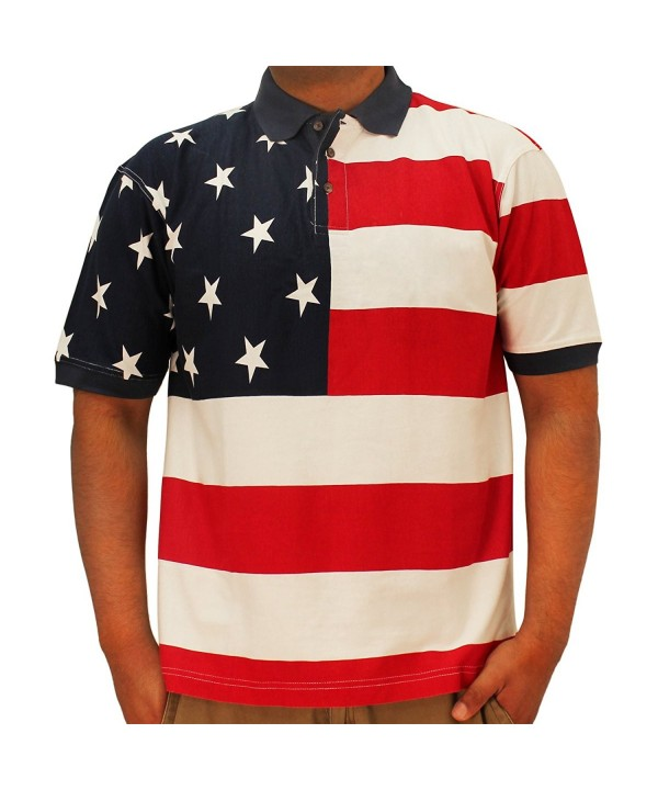 Horizontal American Flag Patriotic Shirt