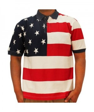 Horizontal American Flag Patriotic Shirt