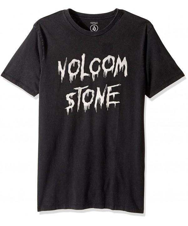 Volcom Sludge Short Sleeve Black