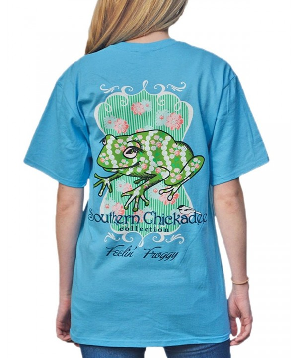 Southern Chickadee Feeling Froggy Aquatic