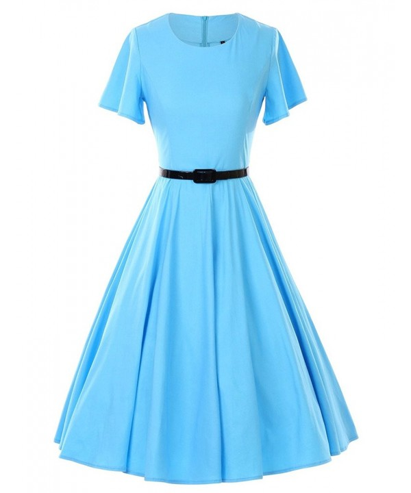 GownTown Vintage Dresses Butterfly Stretchy
