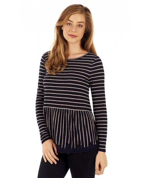 WallFlower Womens Juniors Striped Small