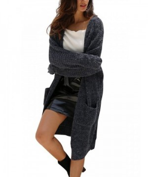Simplee Womens Cardigan Sweater Pockets