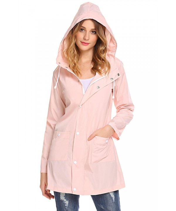 Elover Waterproof Lightweight Outdoor Raincoat