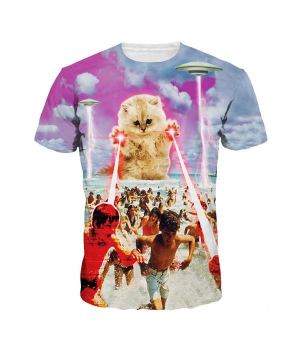 ColorFino Printing T shirt Clothing Spaceship