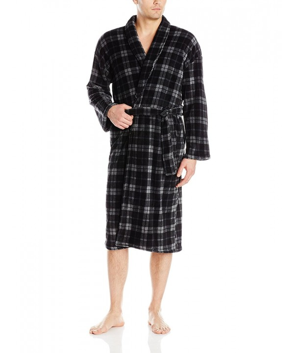Essentials Seven Apparel Bathrobe Charcoal