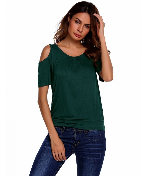 Beyove Womens Shoulder Sleeve Blouses