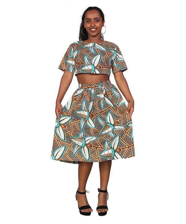 FANS FACE Women African Outfit