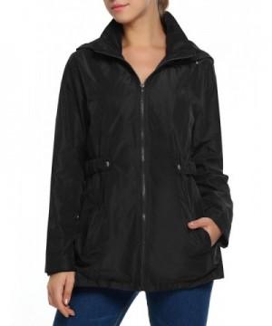 Goodfans Windproof Front zipper Climbing Raincoat