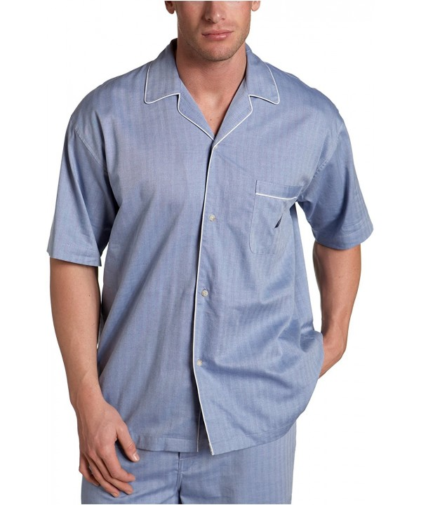 Nautica Captains Herringbone Sleeve Pajama