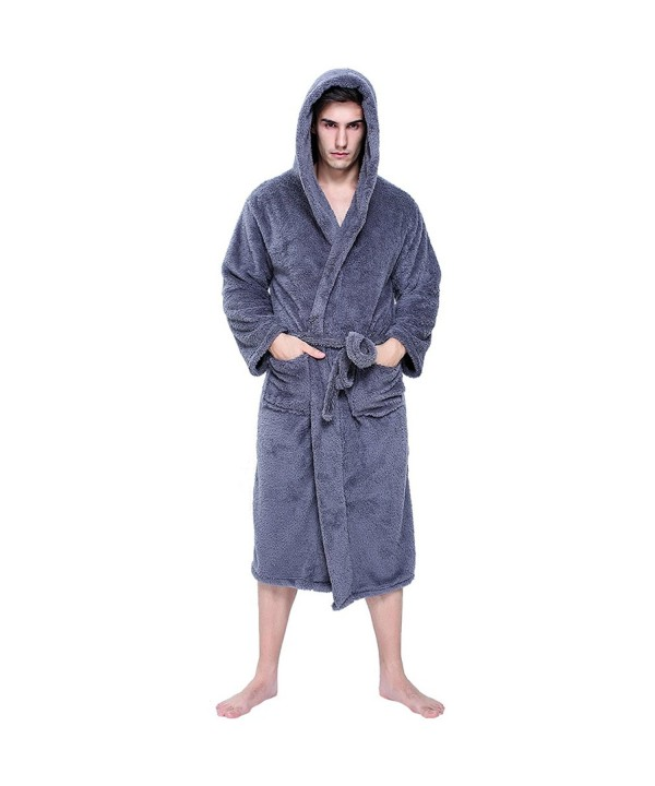 jaaytct Womens Fleece Winter Bathrobe