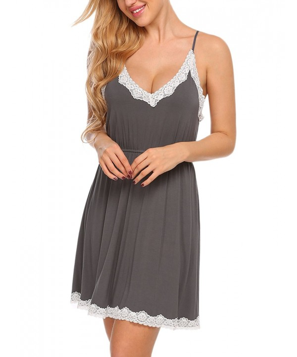 Ekouaer Babydoll Sleepwear Nightgown Nightwear