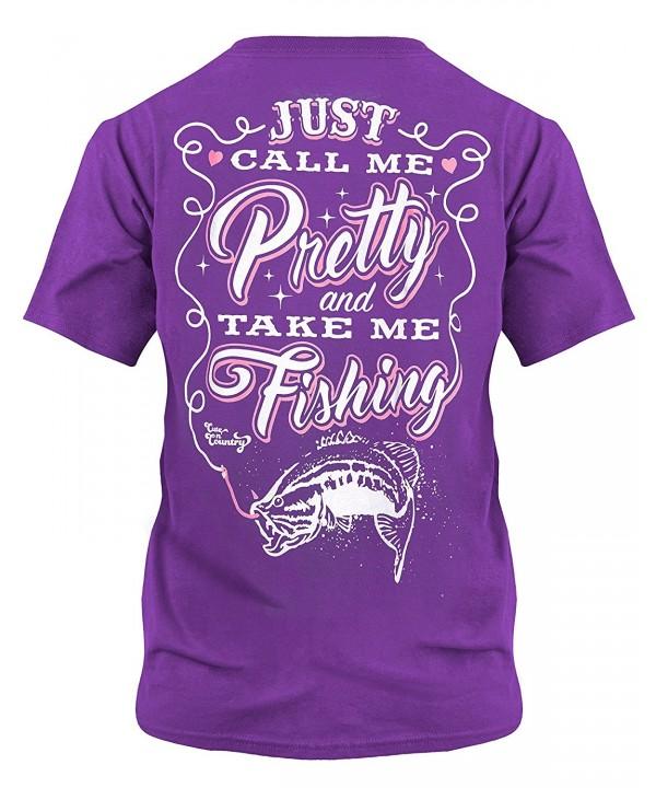 Cute Country Shirt Pretty Fishing