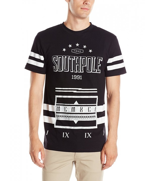 Southpole Sleeve Graphic Accent Stripes