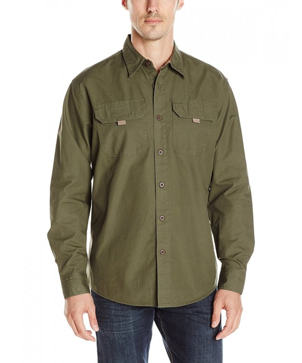 Wrangler Authentics Big Tall Sleeve Canvas