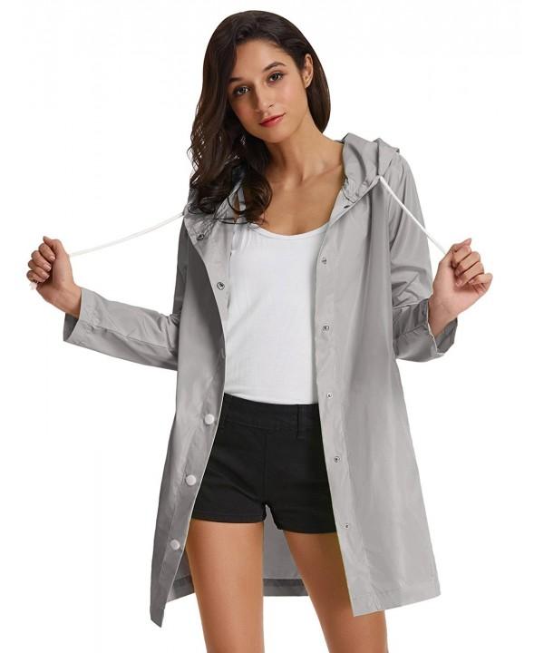 Lightweight Waterproof Raincoat Hooded Windbreaker