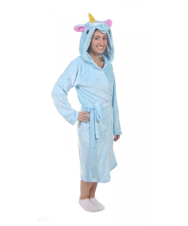 Forever Lazy Animal Robe Unicorn
