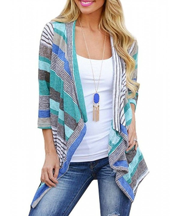 Myobe Striped Cardigan Sweater Outfits