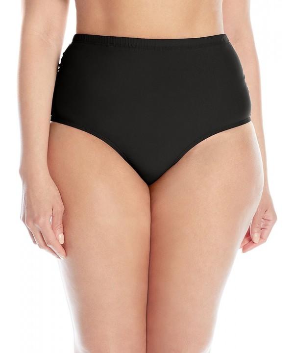 ATHENA Womens Plus Size Bikini Bottom