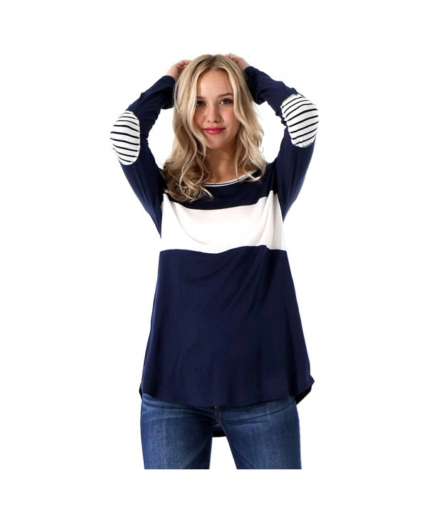 Preppy Doll Womens Colorblock Stripe
