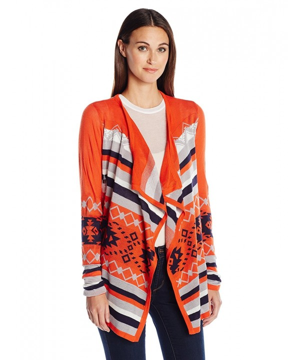 Allison Brittney Jacquard Cardigan Evening