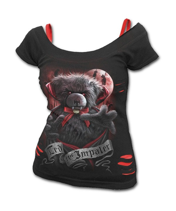 Spiral Womens Impaler Teddy Ripped