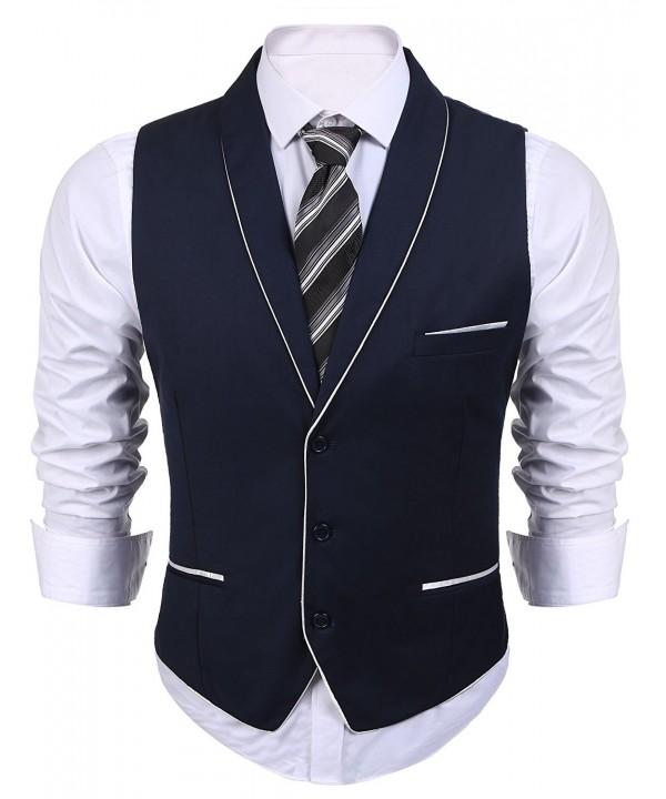 Coofandy Mens V neck Sleeveless Vest
