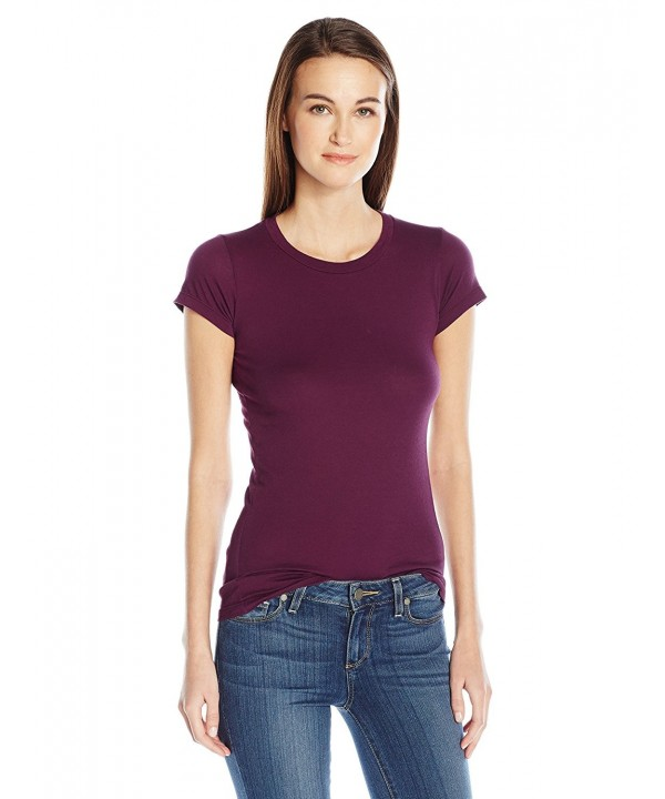 ad666bcbe Velvet by Graham & Spencer Women's Gauzy Whisper Classics S/S Tee ...