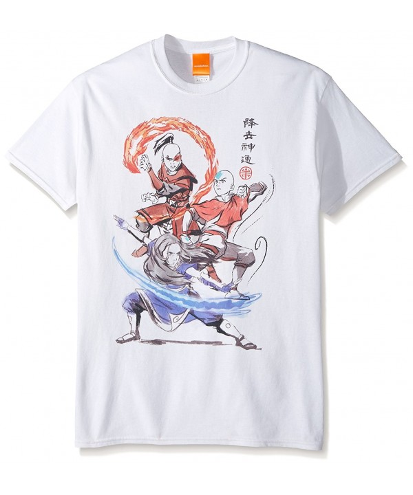 Nickelodeon Airbender Groupshot T Shirt White