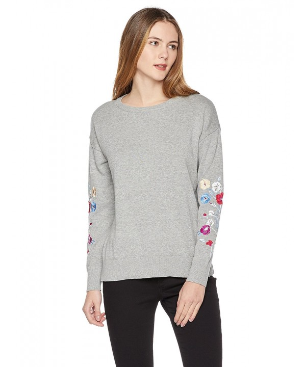 True Angel Womens Embroidery Pullover