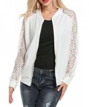 Womens Jacket Casual Patchwork Lightweight
