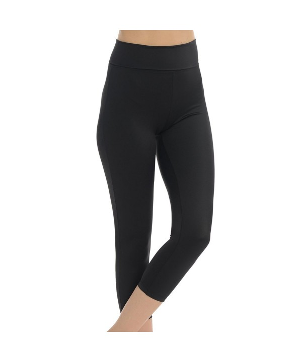 womens Active Workout Dance Leggings Large