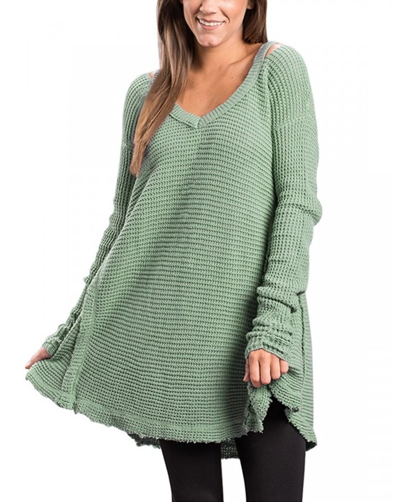 Dokotoo Fashion Shoulder Sweater Pullover