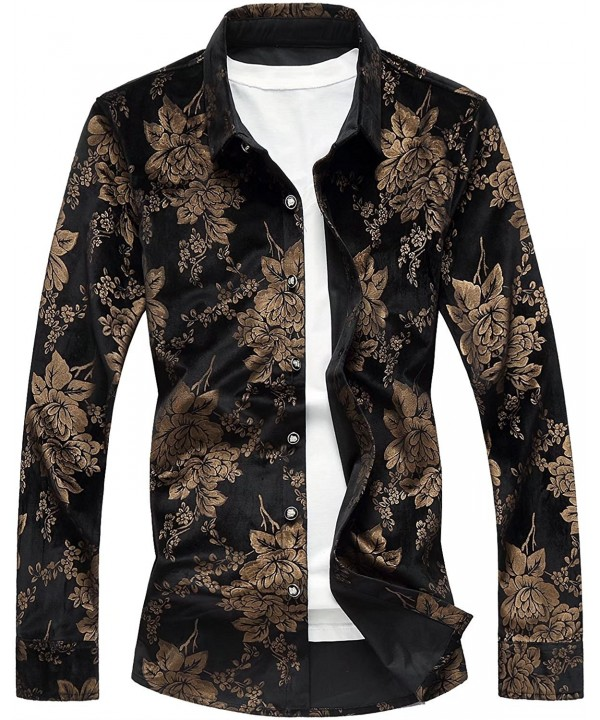 Sleeves Luxury Golden Floral Regular