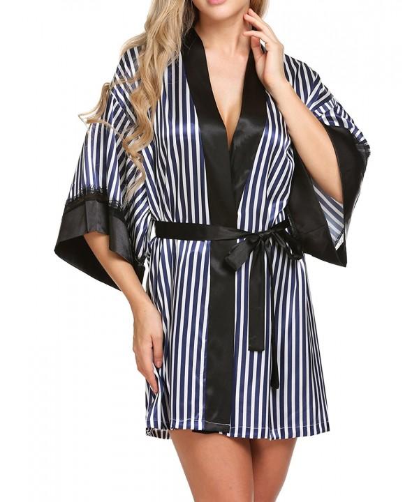 Hufcor Kimono Simplicity Bathrobe Sleepwear
