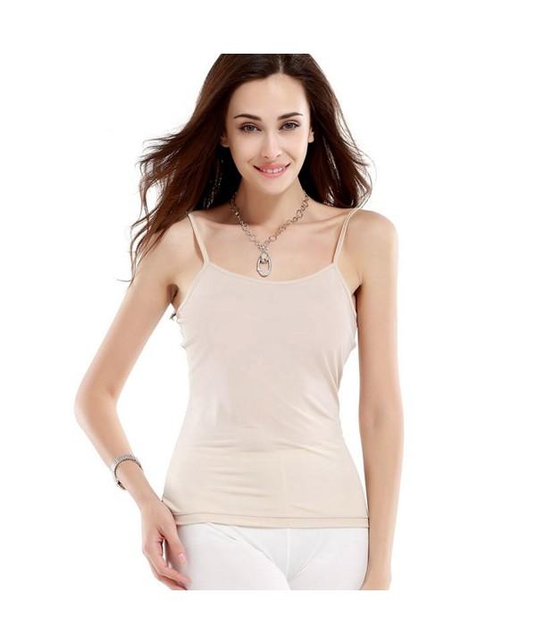 HOFFEN Womens Camisoles Adjustable Straps