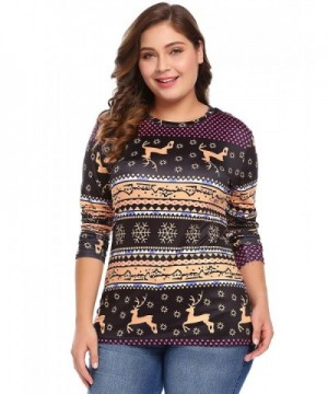 PLUNGER Womens Sleeve Christmas T Shirt