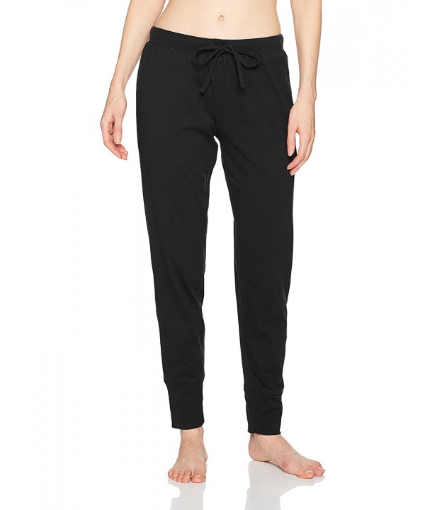 Jockey Womens Cotton Jogger Black