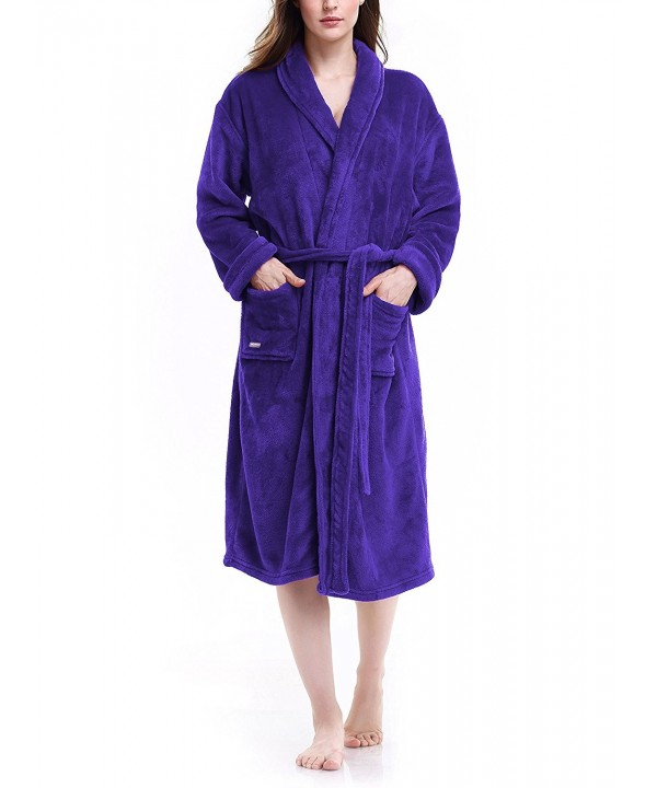 David Archy Womens Bathrobe Dressing