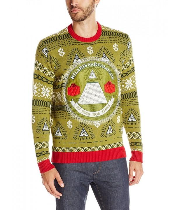 Blizzard Bay Illuminati Christmas Sweater