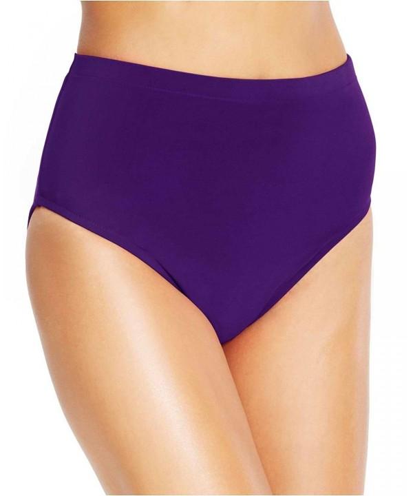 Miraclesuit Swimsuit Bikini Bottom Eggplant