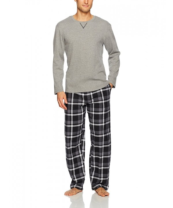Jockey Flannel Jersey Henley Pajama