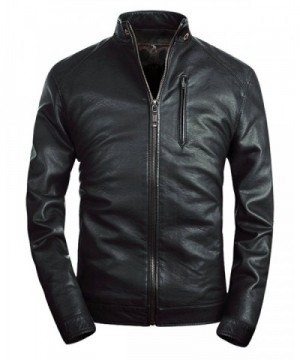 Fairylinks Collar Leather Jacket Classic