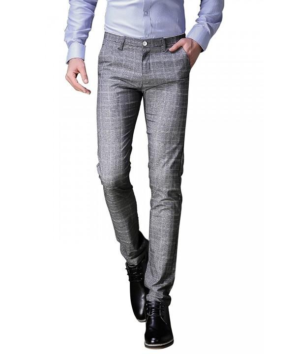 FLY HAWK Business Stretchy Grey