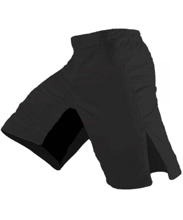Blank MMA Shorts Black 30